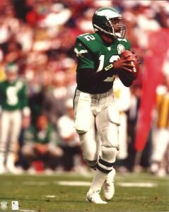 Details about RANDALL CUNNINGHAM 8x10 PHOTO (Jerome Brown Jersey Patch) PHILADELPHIA EAGLES QB