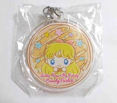 Sailor Moon x My Melody Acrylic Keychain Venus Minako Aino Accessory Anime F//S