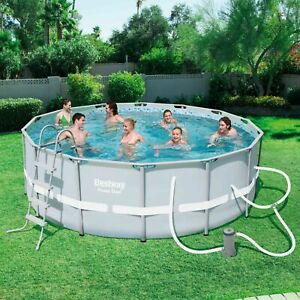 Bestway Steel Frame Pool Set 14ft X 48in
