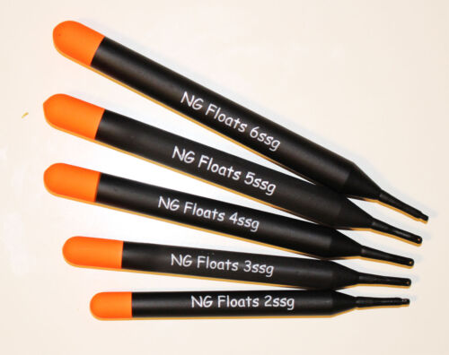 NG Floats Pellet Wagglers Un-loaded Five Sizes Top Quality