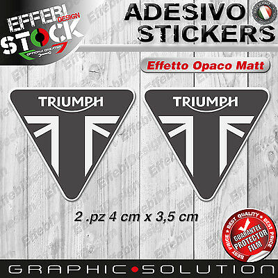 Adesivo Sticker TRIUMPH UK FLAG bonneville daytona 675 speed street triple tiger