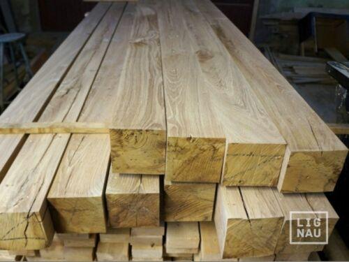 Eichenbalke Bettbalke Tischbein Holz Eiche Kantholz Holzbalken 9x9cm gehobelt