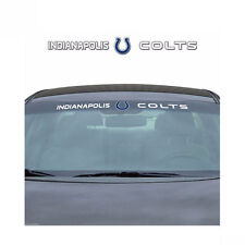 Team ProMark NFL Indianapolis Colts Car Truck Suv Windshield Decal Sticker