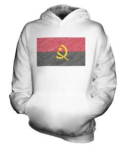ANGOLA-KRITZELTE-FLAGGE-KINDER-KAPUZENPULLOVER-HOODIE-JUNGEN-MADCHEN-KLEINKIND