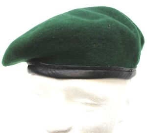 Details about GERMAN ARMY PANZER DIVISION & INFANTRY GREEN BERET sizes 54 -  61cm