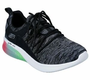 Skechers-Black-Multi-shoe-Memory-Foam-Women-Sport-Air-Ultra-Casual-Comfort-13292