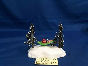 Lemax Village Collection Swinging Santa #44191 As Is EB510