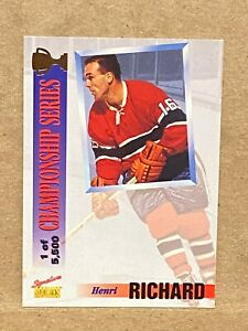1995-Signature-Rookies-Draft-Day-Championship-Series-5500-Henri-Richard-CS4
