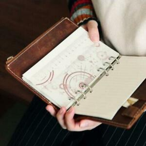 Notebook-Spiral-Planner-Binder-Divider-Inner-Ruler-School-Student-Stationery-Q