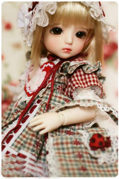 1 6 muñeca de BJD Uri hermosa y encantadora con ojos Gratis + Cara Maquillaje