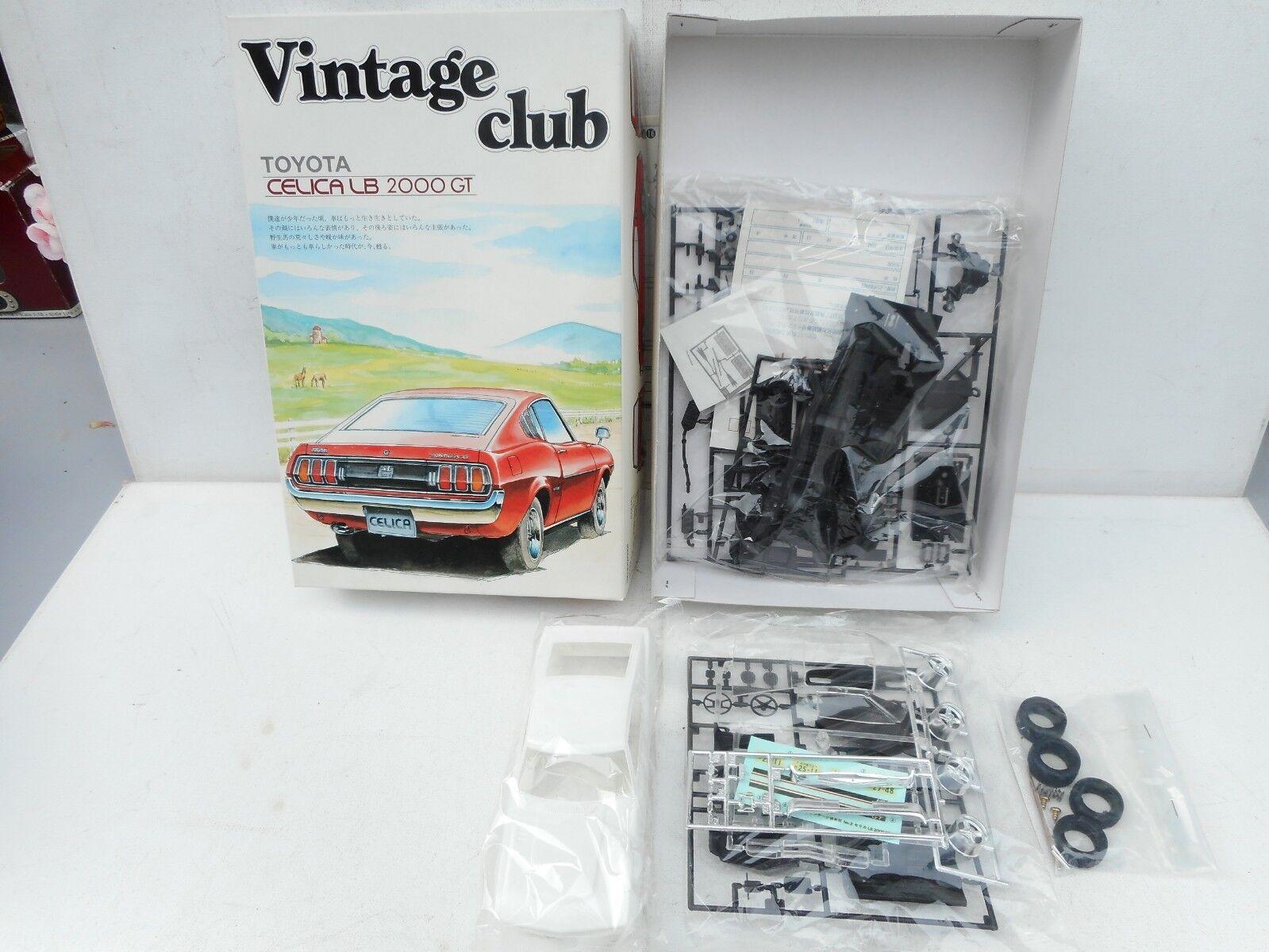 Aoshima Vintage club  KIT  1/24 Celica LB 2000 GT Vintage Club RARE SELTEN