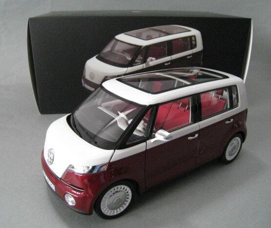 VW Bulli Concept Car 2011 in rot weiß Norev 1 18  OVP NEU  | Genial Und Praktisch