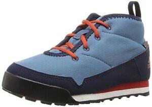 75-Adidas-Kid-Snowpitch-Chukka-Sports-Boots-Shoe-PRIMALOFT-Blue-Red-4-5-EU-36-5