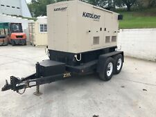 50 Kw Diesel Trailer Mount Generator Re Furbished Load Bank Tested Fuel Tank