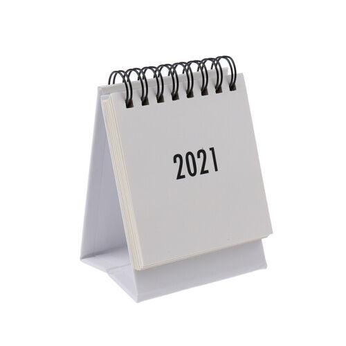 1PC 2021 Calendar Coil Schedule Desk Table Dates Reminder Timetable PlannerLDE