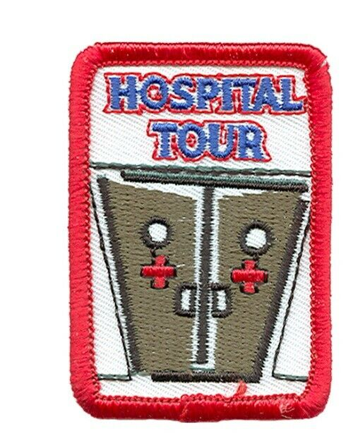 Girl Boy Cub Medical Hospital Tour Visit Fun Patches Crests Badges Scouts  Guides