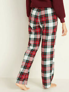 Women/'s Flannel Pajama Pants Old Navy All Reg,Size Multi Color 100/% Cotton NWT