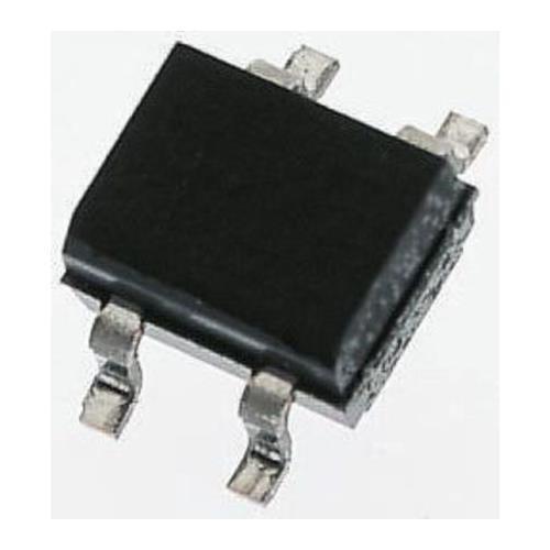 Bridge Rectifier 0.8A 400V 10 x Diodes Inc HD04-T 4-Pin MiniDIP SMD