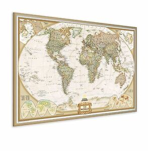 Ng pinboard world map with wood frame includes a packet of twelve image is loading ng pinboard world map with wood frame includes gumiabroncs Images