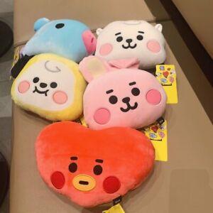 FAST ship New Cute Bangtan Boys BTS BT21 Plush Pillow Stuffed Toy Kpop Gift 22CM