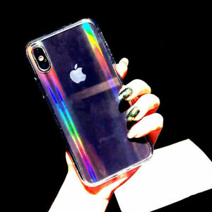 Luxury Rainbow Glitter Phone Case For