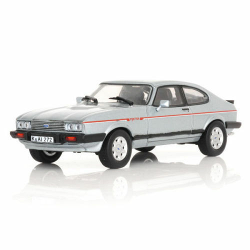 NOREV 270561 FORD CAPRI 2.8 INJECTION model road car Artic bluee 1984 1 43 scale