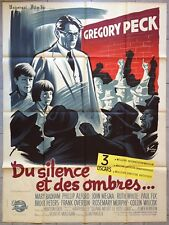 Affiche DU SILENCE ET DES OMBRES To Kill a Mockingbird GREGORY PECK 120x160cm