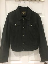 Vintage Mens Vivienne Westwood Anglomania Black Denim Jacket Small Made in Italy