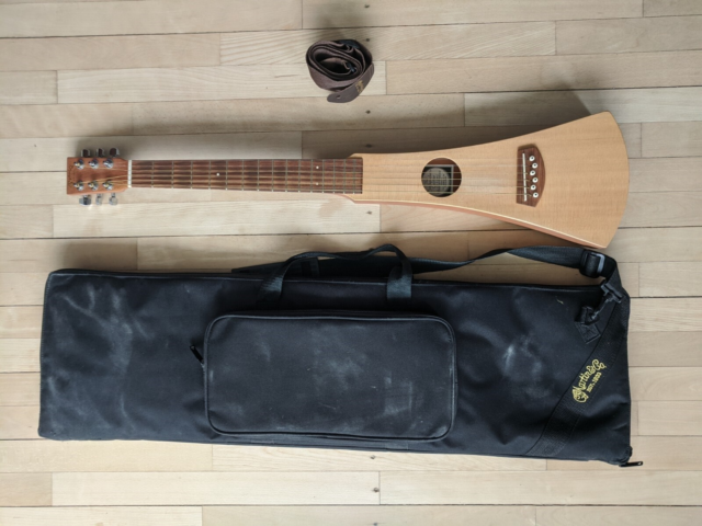 Rejse guitar, Martin Backpacker Guitar, Great little…