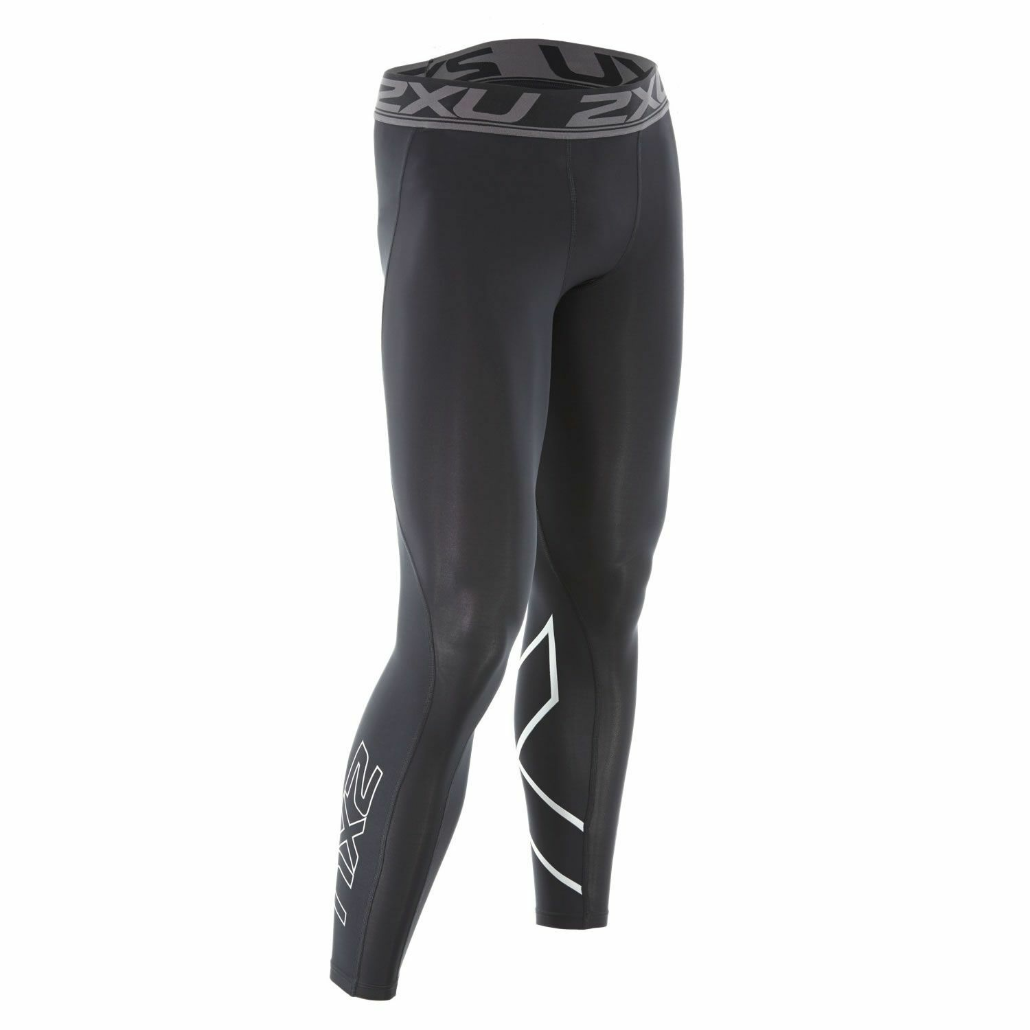 New Tights 2XU Men Accelerate Compression Tights New Elestic Waistband Train Race MA4476b f0011c