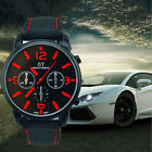 GT Vogue Sport Mens Watch Stainless Steel Analog Quartz Military WristWatches