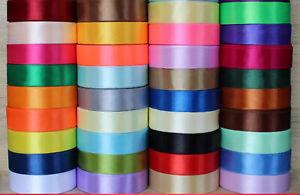 15mm-Width-Satin-Ribbon-Scrapbook-Wedding-Wrap-Party-Decor-Gift-Packing-3-59-3m
