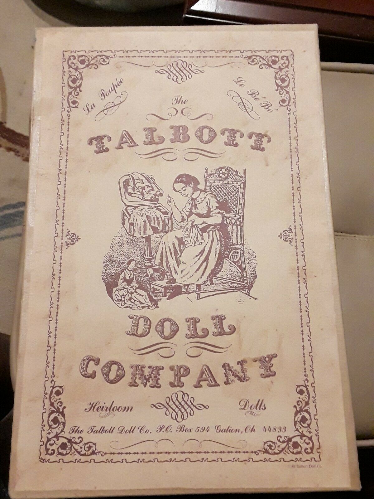Talbot Doll Company Heirloom Dolls