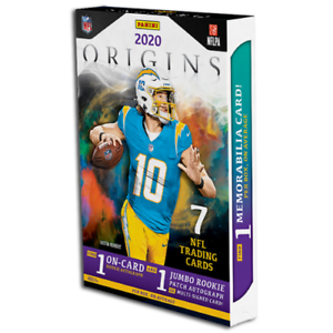 2020-PANINI-ORIGINS-FOOTBALL-HOBBY-BOX-FACTORY-SEALED-IN-STOCK-FREE-SHIPPING