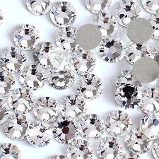 ALL size SWAROVSKI crystals non hotfix flat back for nails lashes clothes   30pcs ad85eda38cda