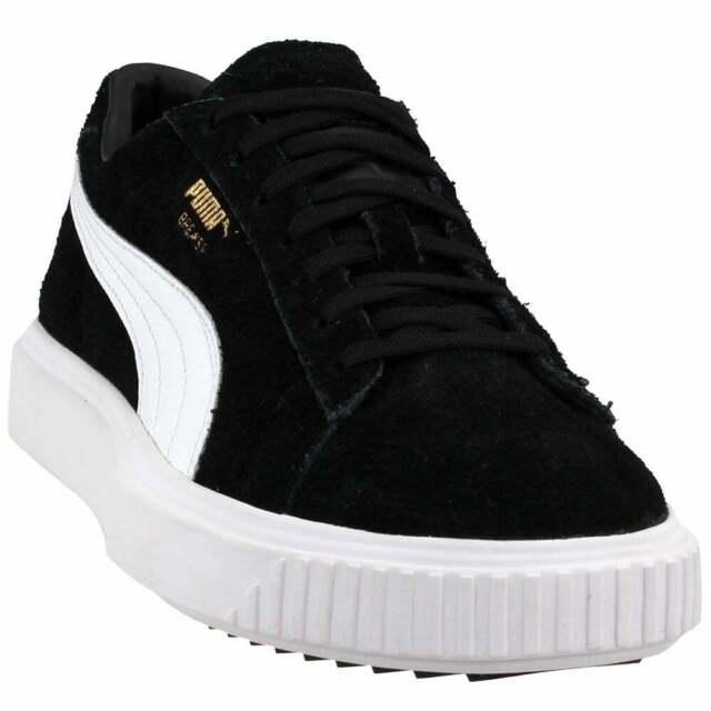 Puma Breaker Suede Sneakers Casual    - Black - Mens