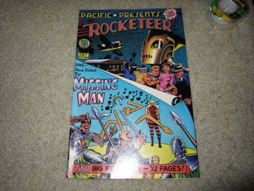 PACIFIC PRESENTS #1 FEATURING ROCKETEER RARE COMIC!