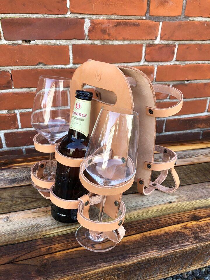 Cykeltaske, Øl/vin holder