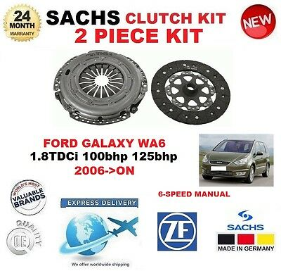 FOR FORD GALAXY 2.0TD TDCi  2010--/> FRONT BRAKE DISCS SET AND DISC PADS KIT