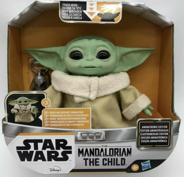 The Mandalorian Baby Yoda The Child Animatronic Edition Toy Star Wars