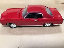 1:24 1970 Chevy Monte Carlo SS454 Red by Saico without box