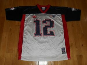 Vintage Reebok TOM BRADY Super Bowl 36 NEW ENGLAND PATRIOTS NFL ...