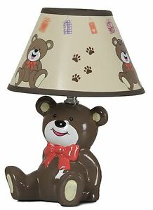 New Cute Bear Baby Table Lamp