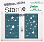 Wandtattoo-Sterne-Aufkleber-Dekoration-Himmel-Star-div-FARBEN-amp-GROSSEN-779X