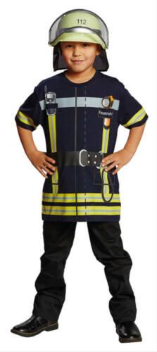 Kostüm Spieleshirt Feuerwehr bGr 116