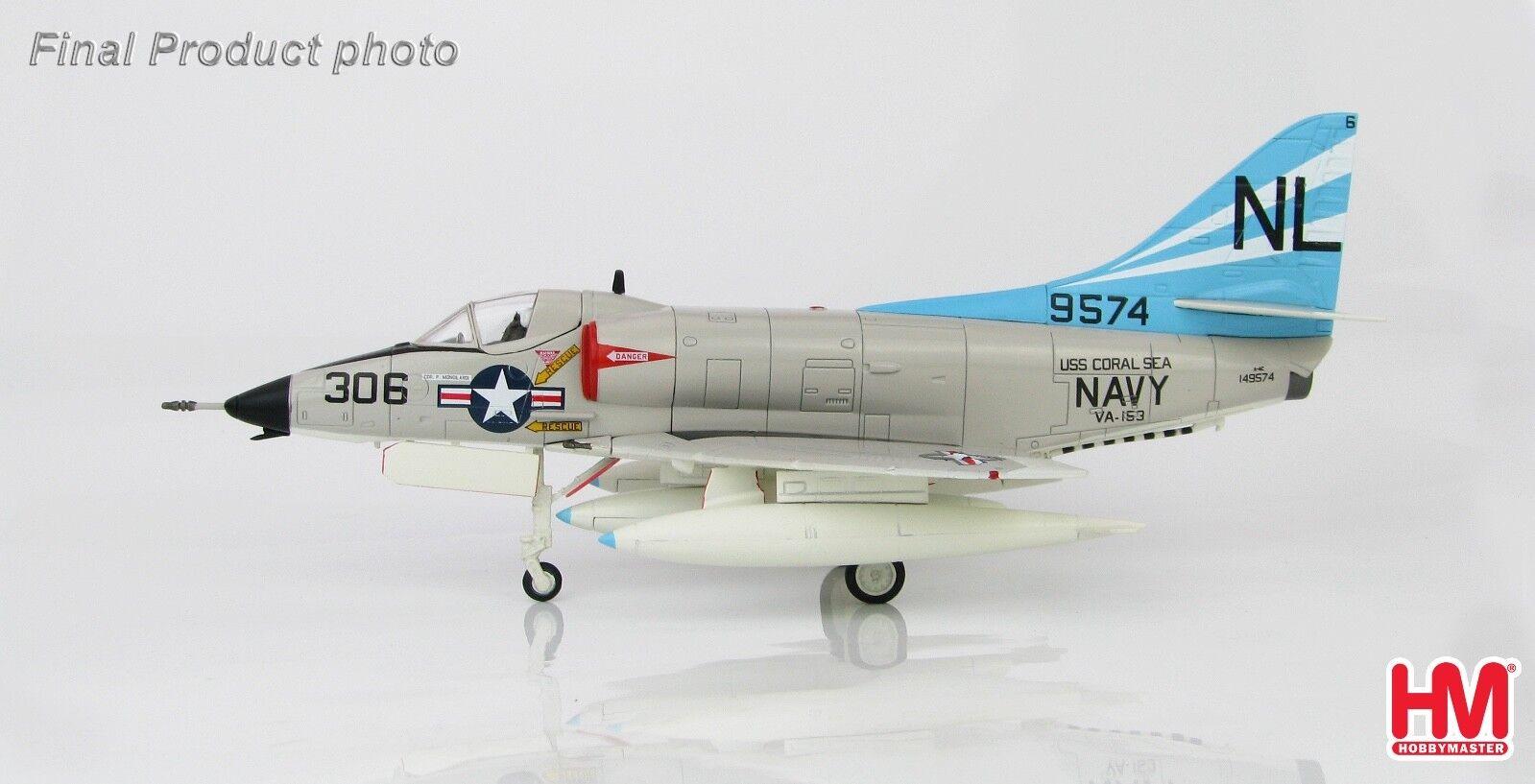Hobby Master HA1428 1/72 Douglas A-4C Skyhawk 149574 VA-153 USS Coral Sea, 1960s