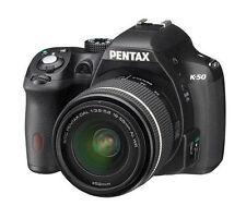 Pentax K K-50 16.0MP Digitalkamera - (Kit mit WR DAL 18-55mm Objektiv)
