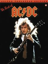 THE BEST OF AC/DC GUITAR TAB SHEET MUSIC SONG BOOK