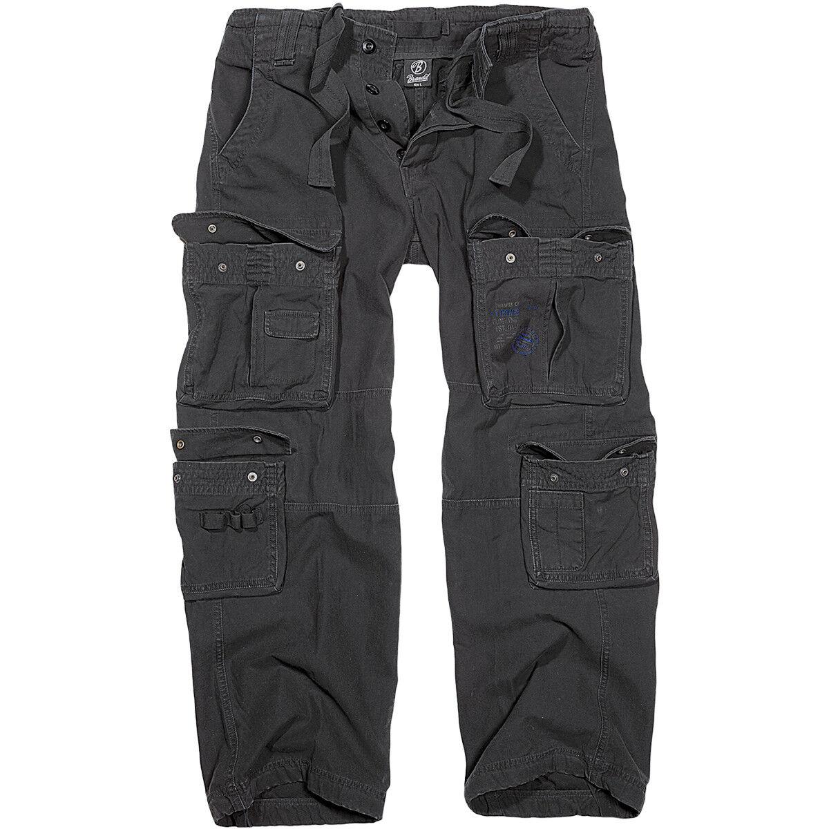 Brandit Brandit Brandit Uomo Puro Vintage Polizia Combattere Pantaloni Sicurezza Lavoro Cargo Pa ee84ce