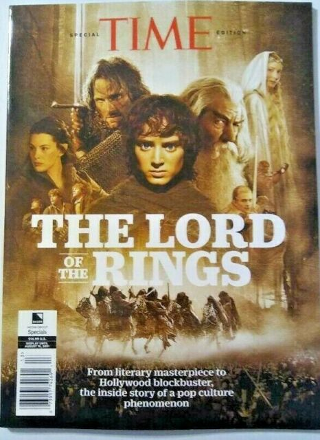 Lord of the Rings TIME Special Limited Edition Magazine Brand New! Great Price!